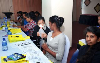 Dental Care International (DCI) Continuing Education course for dental assistants in Colombo, Sri Lanka 2017