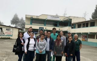 Dental Care International (DCI) Ecuador Dental Volunteer service trip. dentists, hygienists, dental assistants, and non-dental professionals volunteering together