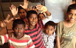 Sri Lanka children who received free dental care by Dental Care International (DCI)