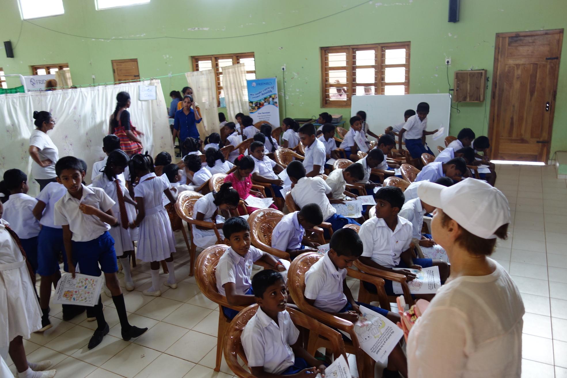 Dental Care International (DCI) Mobile dental care to provide free dental care to children in Sri Lanka. Dentists, hygienists, dental assistants