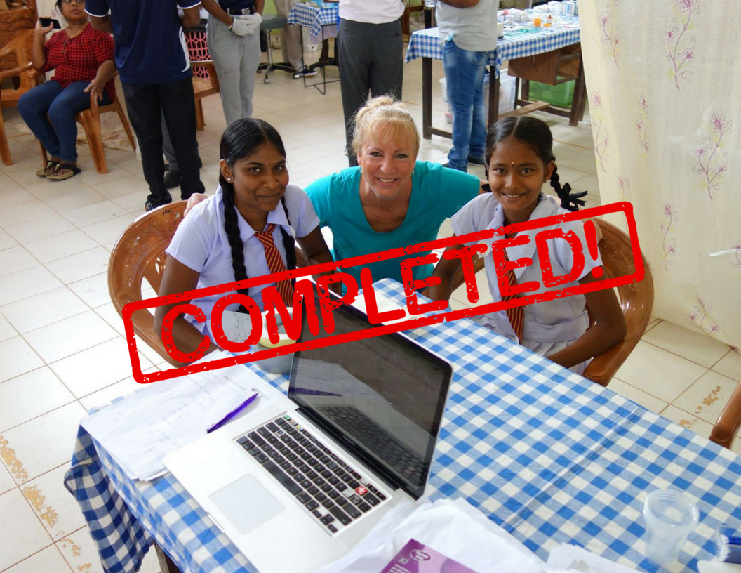 DCI dental volunteer outreach trip to Sri Lanka