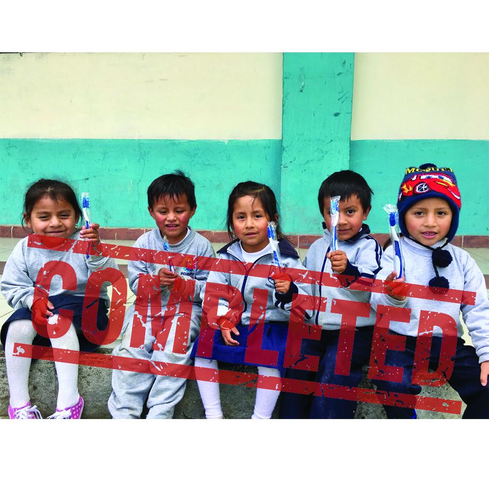 DCI Dental Outreach Trip to Ecuador Fall 2019